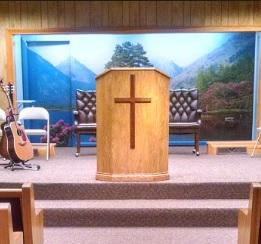 Faith Assembly Church platform